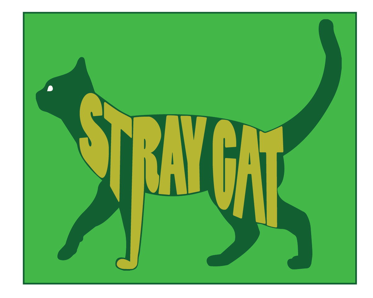 Stray Cat Logo & Color Scheme